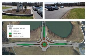 •Roundabout proposal