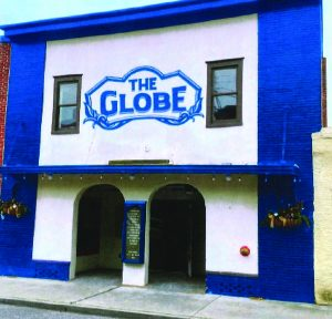 •The Globe Sign Design